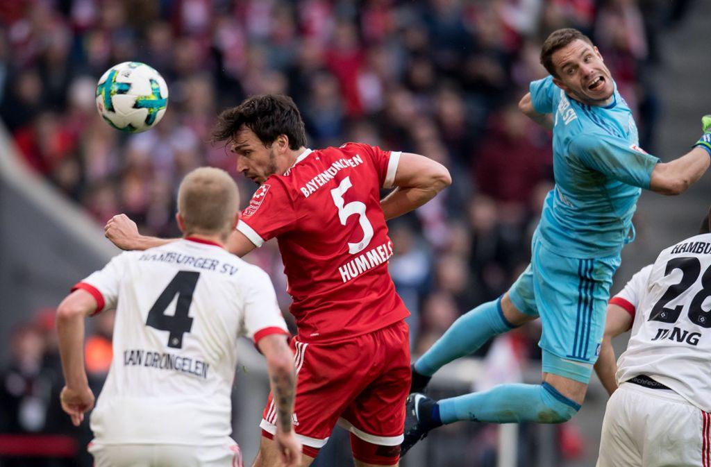 Schlendrian beim FC Bayern? Nur ab Minute 30! Foto: dpa