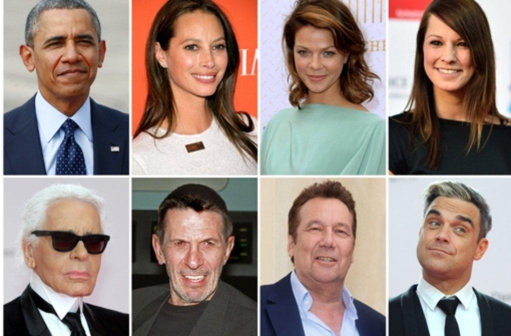 Am 31. Mai ist Weltnichtrauchertag. In unserer Fotostrecke stellen wir Prominente vor, die es geschafft haben, mit dem Rauchen aufzuhören. Foto: dpa