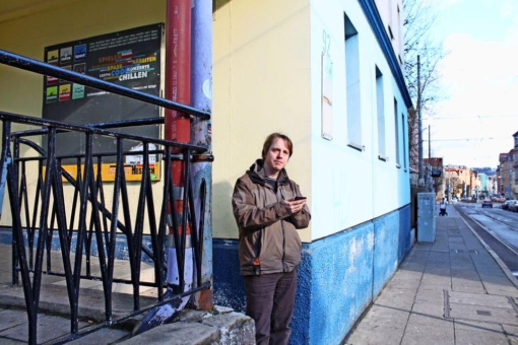 Stefan Pförter vom Jugendhaus betreut das Projekt Storycaching. Foto: Maike Woydt
