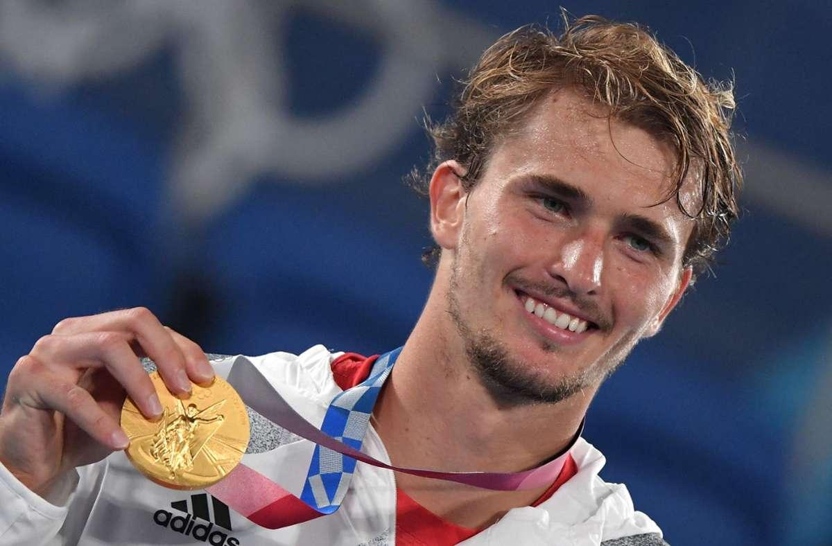 Alexander Zverev hat deutsche Tennis-Geschichte geschrieben. Foto: AFP/TIZIANA FABI