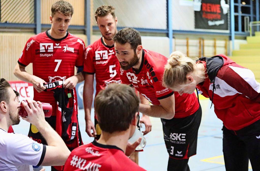 Vergeblicher Kampf: Alexandra Berger, Thiago Welter und das  SVF-Team Foto: Patricia Sigerist