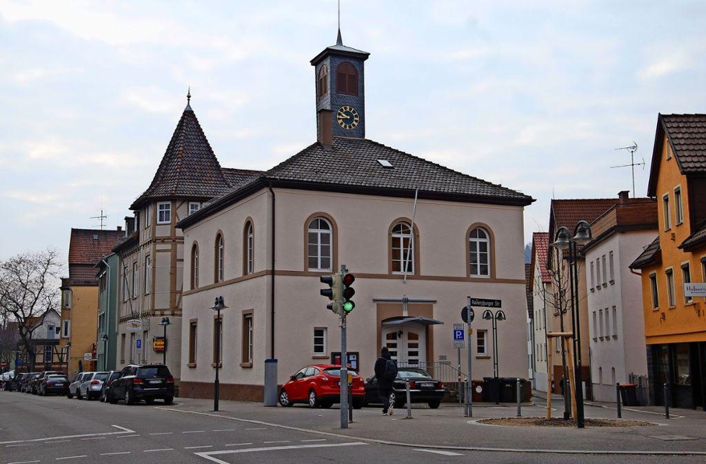 Das Alte Rathaus und das Gasthaus Lamm bilden mit der Kelter ein sehenswertes Ensemble im Wangener Ortskern. Foto: Mathias Kuhn