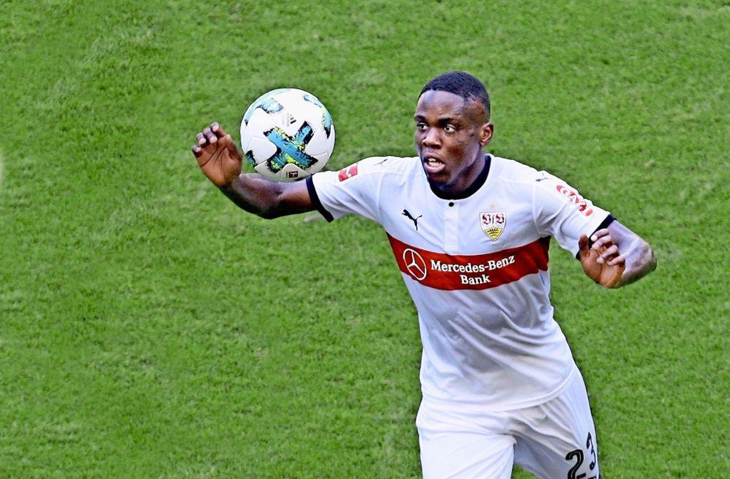 Orel Mangala spielt in dieser Daison für den HSV. Foto: Pressefoto Baumann