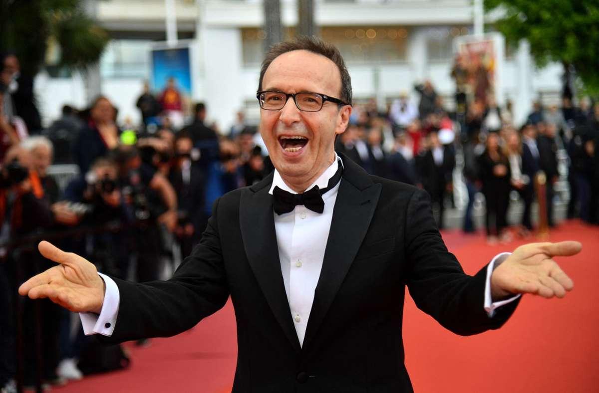Wie immer voller Überschwang: der Schauspieler und Regisseur Roberto Benigni Foto: AFP/Alberto Pizzoli