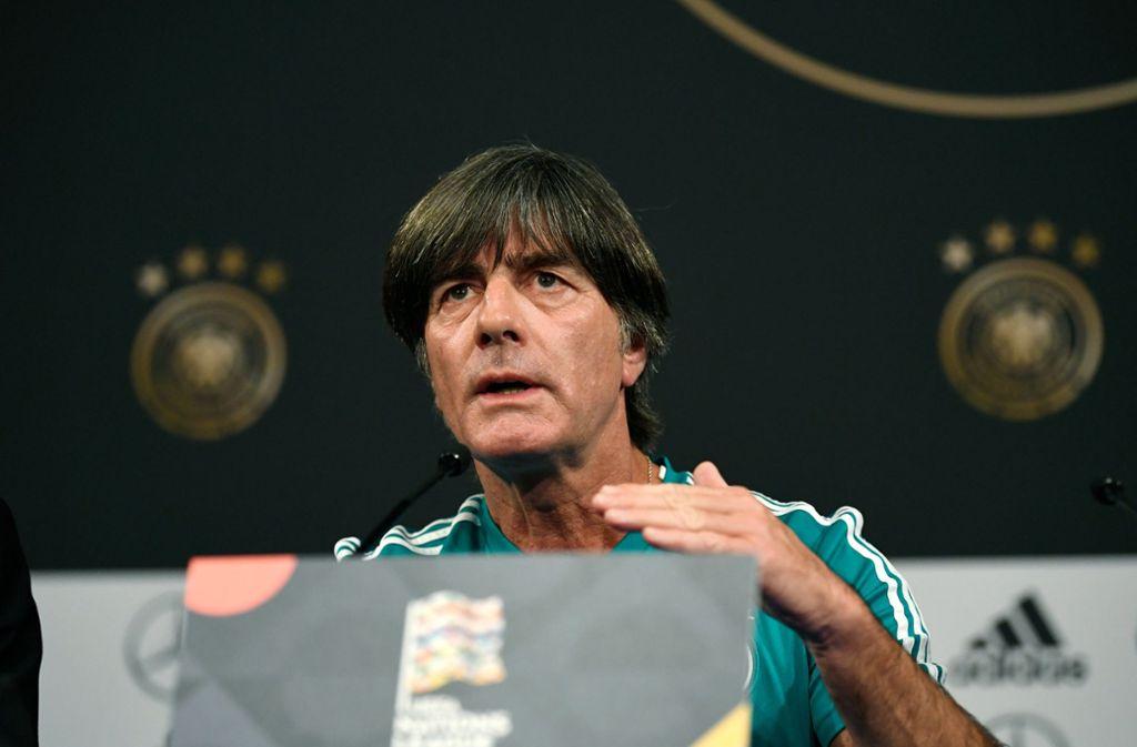 Joachim Löw hofft auf einen Sieg gegen Frankreich. Foto: dpa