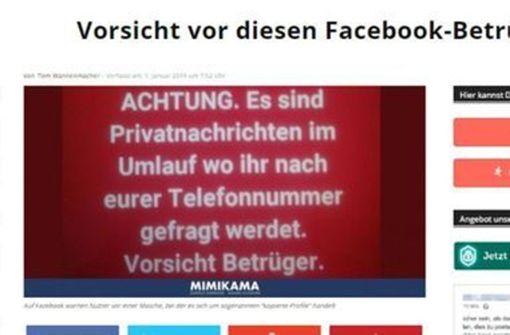 So können sie sich auf Facebook schützen