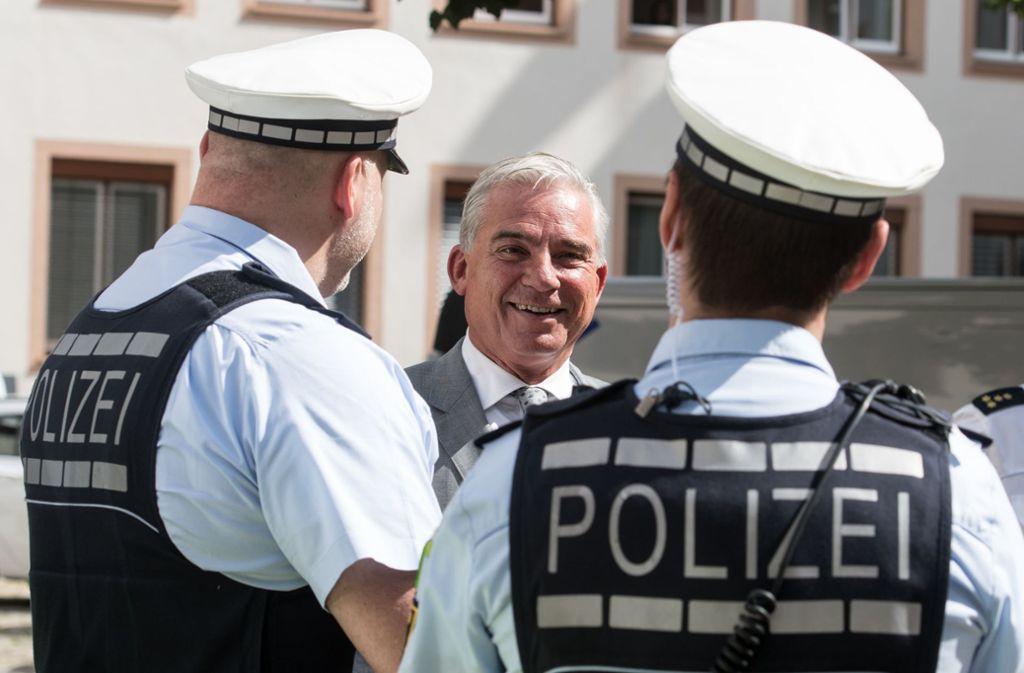 In der Debatte um die Veröffentlichung des Sicherheitskonzepts für Sigmaringen hat Innenminister Thomas Strobl (CDU) die Rückendeckung des zuständigen Bundestagsabgeordneten bekommen. Foto: dpa