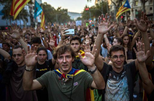Zahl der Demonstranten auf 700.000 gestiegen