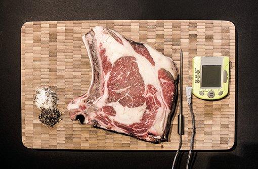 Die richtige Zubereitung eines Steaks