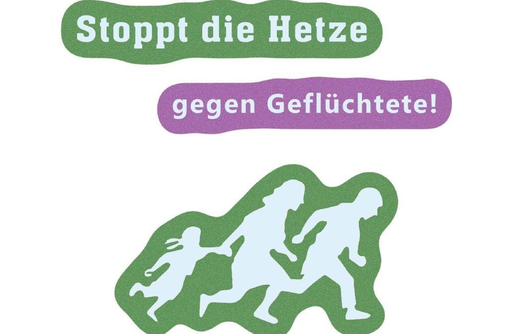 Mit diesem Flyer will das Libertäre Bündnis Ludwigsburg gegen Vorurteile gegenüber Flüchtlingen kämpfen. Foto: privat
