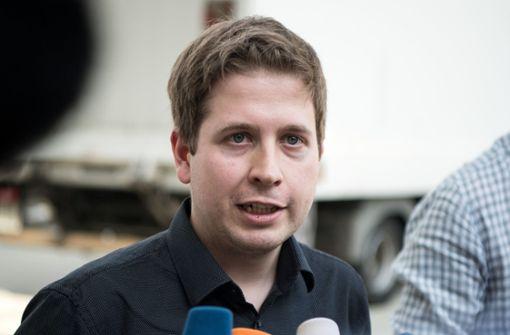 Kevin  Kühnert gibt Juso-Vorsitz auf und will für Bundestag kandieren