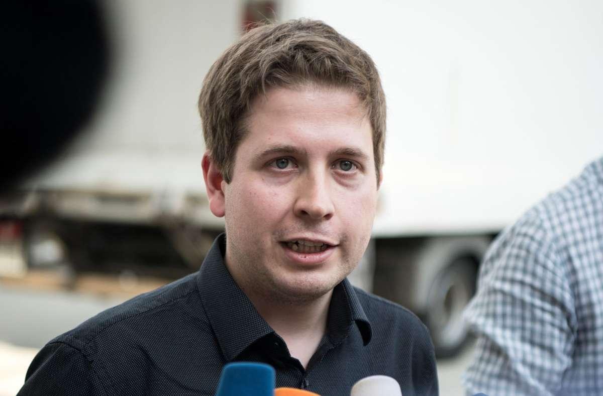 Kevin Kühnert will 2021 für den Bundestag kandidieren. (Archivbild) Foto: dpa/Bernd von Jutrczenka