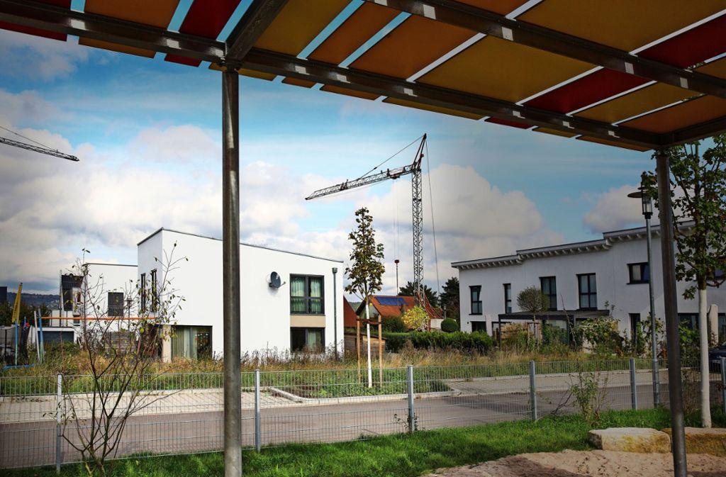 Das Wohnen in Esslingen ist nicht nur in Neubauten sehr teuer. Foto: /Horst Rudel