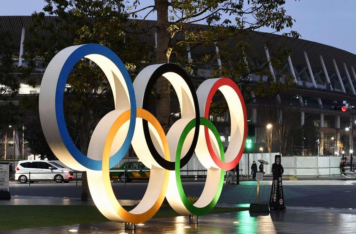 Die Olympischen Spiele werden 23. Juli bis zum 8. August 2021 ausgetragen. (Archivbild) Foto: dpa