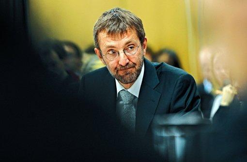 Der wichtigste Rechtsberater beim EnBW-Deal: Martin Schockenhoff Foto: dpa