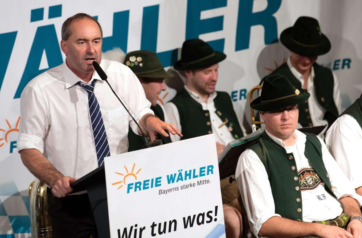 Mischt seit 2008 im bayerischen Landtag mit: Hubert Aiwanger. Foto: dpa/Sven Hoppe