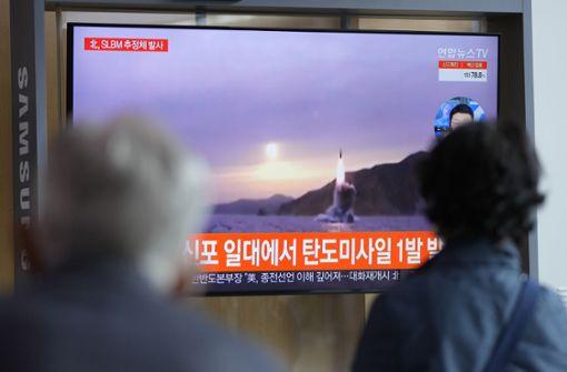 Nordkorea testet erneut U-Boot-Rakete