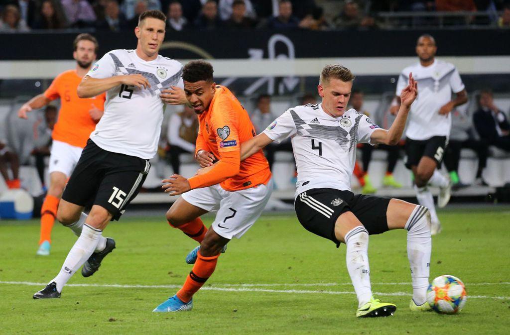 Deutschland und die Niederlande haben gute Chancen, sich für die EM 2020 zu qualifizieren. Doch wie sieht es in den anderen Gruppen aus? Foto: Pressefoto Baumann/Julia Rahn