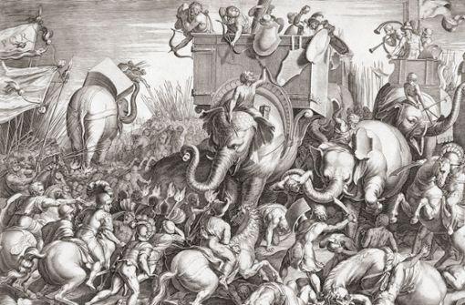 Elefanten statt Panzer