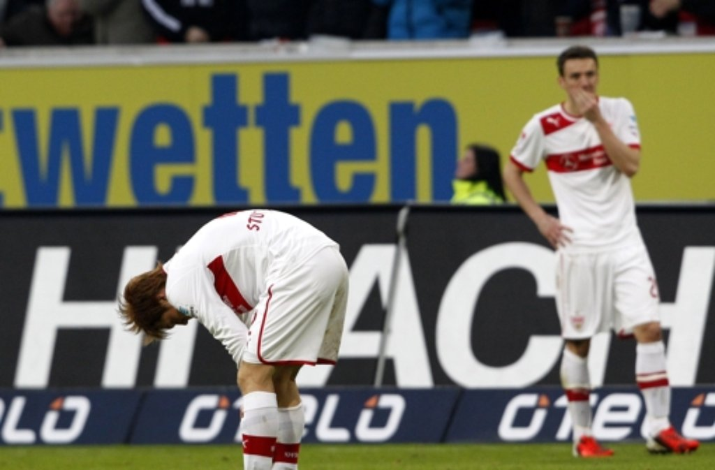 In Düsseldorf muss der VfB die nächste Enttäuschung hinnehmen. Foto: dpa
