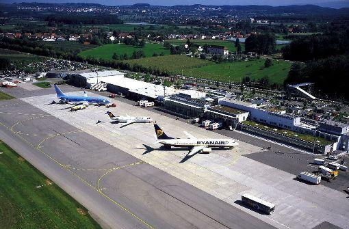 Nothilfe für den Flughafen in Friedrichshafen