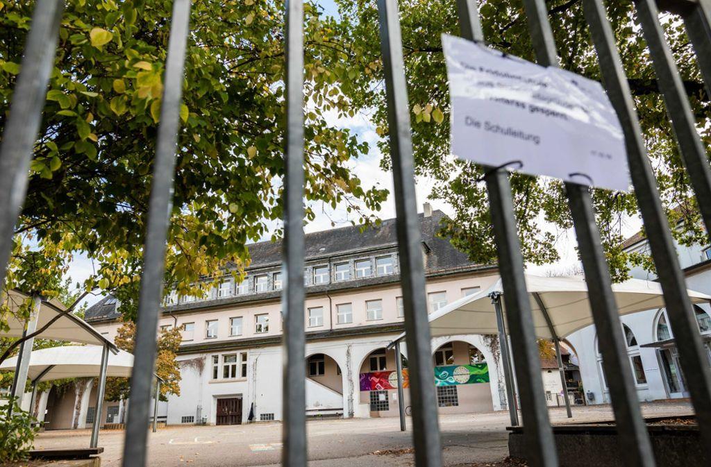 Die Schließung der Lörracher Grundschule sorgte für Aufsehen. Foto: dpa/Philipp von Ditfurth