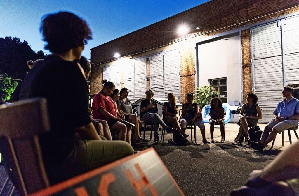 Das Ensemble des Rampe-Projekts Foto: /Dominique Mahmoud