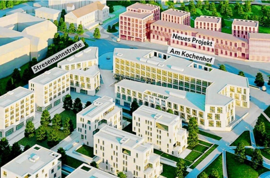 Franz Fürst bleibt bei seinem Vorschlag für das Scenario, doch der Rat will die Fläche neu ausschreiben. Foto: Fürst Developments