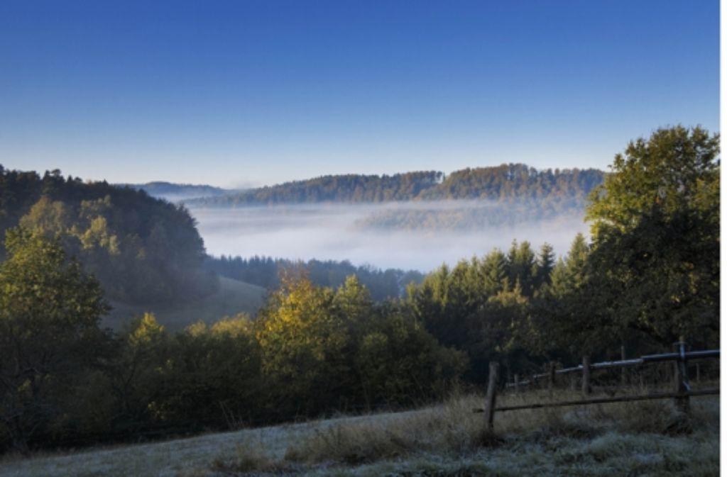 Der Schwäbisch-Fränkische Wald ist eine Idylle am Rande der Region. Foto: Gottfried Stoppel