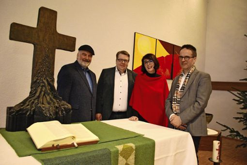Vier Pfarrer für eine Gemeinde