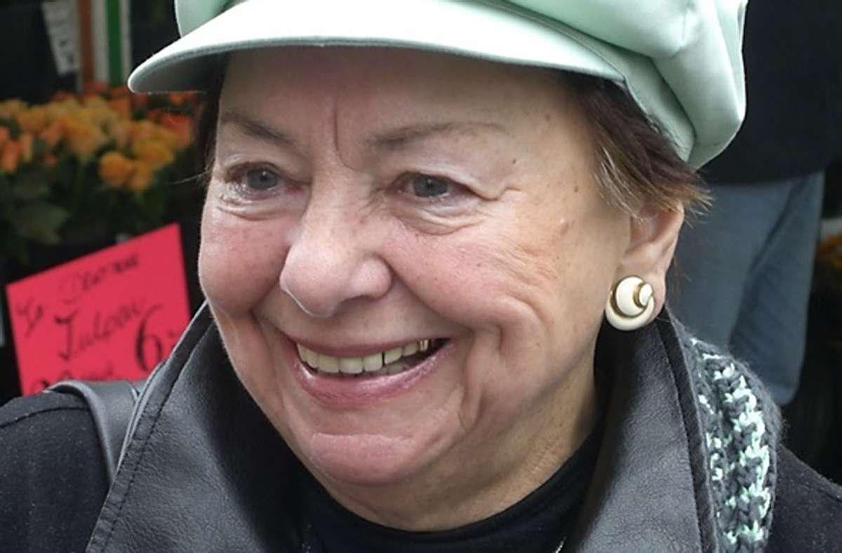Ingeborg Märtin (hier im Alter von 84 Jahren) war eine freiheitsliebende Frau. Foto: Privat