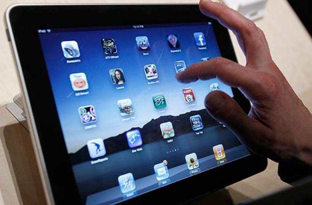Tablet-PCs, Net- oder Notebooks gehören zur Grundausstattung des modernen Menschen. Foto: AP