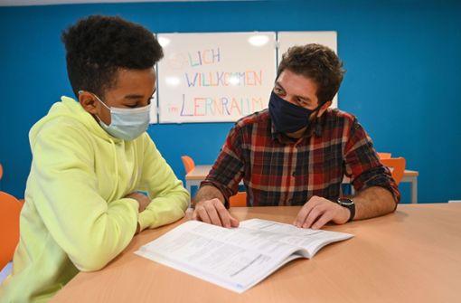 Erster Lernraum für Flüchtlingskinder in Stuttgart