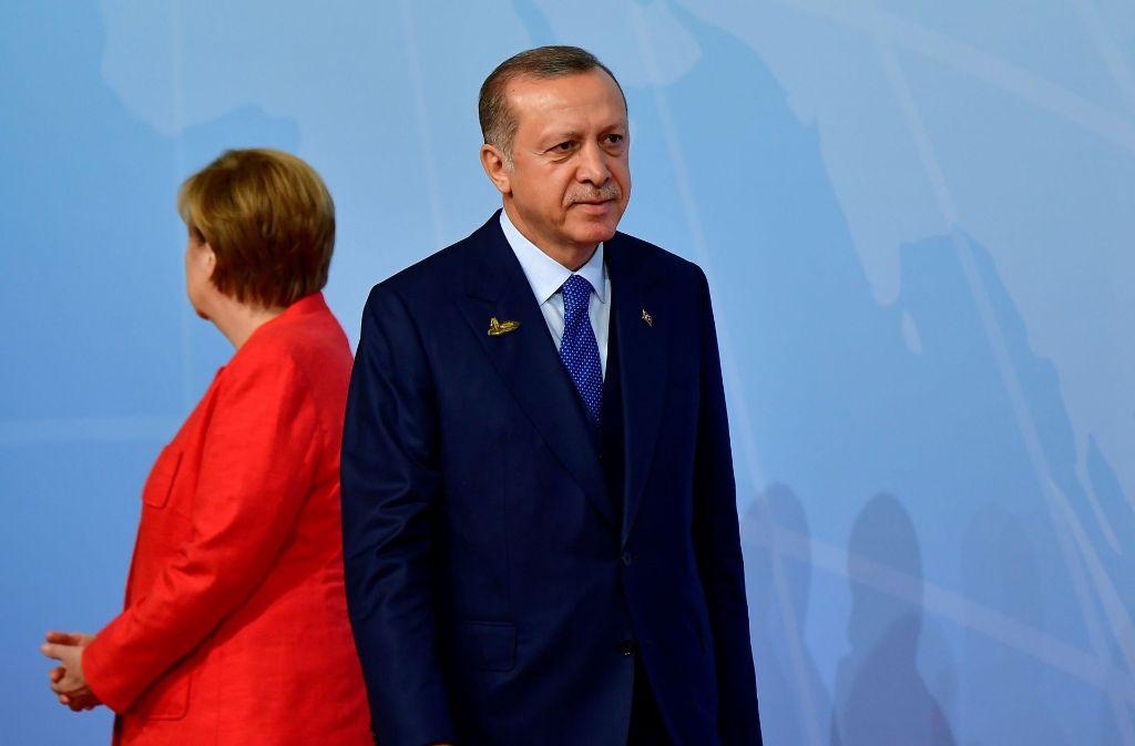 Angela Merkel und Recep Tayyip Erdogan haben sich derzeit nicht mehr viel zu sagen. Foto: AFP