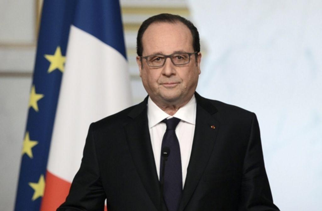 Der französische Staatspräsident François Hollande Foto: AP
