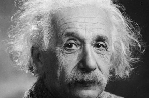 Der geniale Physiker und Nobelpreisträger Albert Einstein Foto: dpa
