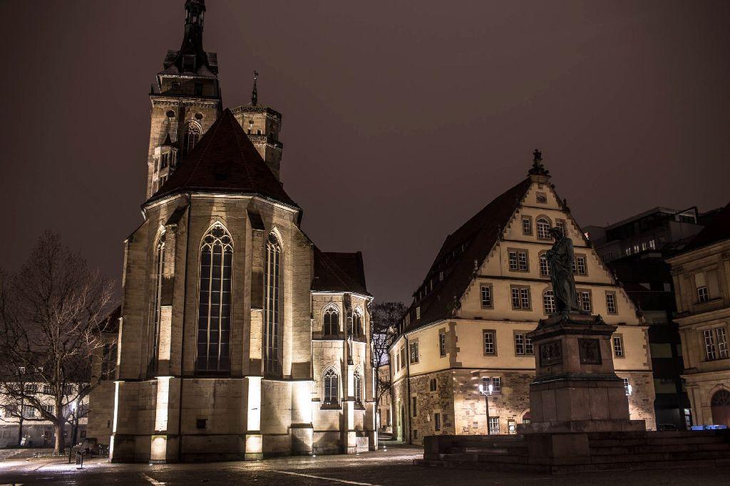 Auch die Beleuchtung an der Stiftskirche wir zur Earth Hour eine Stunde lang abgeschaltet. (Archivfoto) Foto: www.7aktuell.de   Florian Gerlach