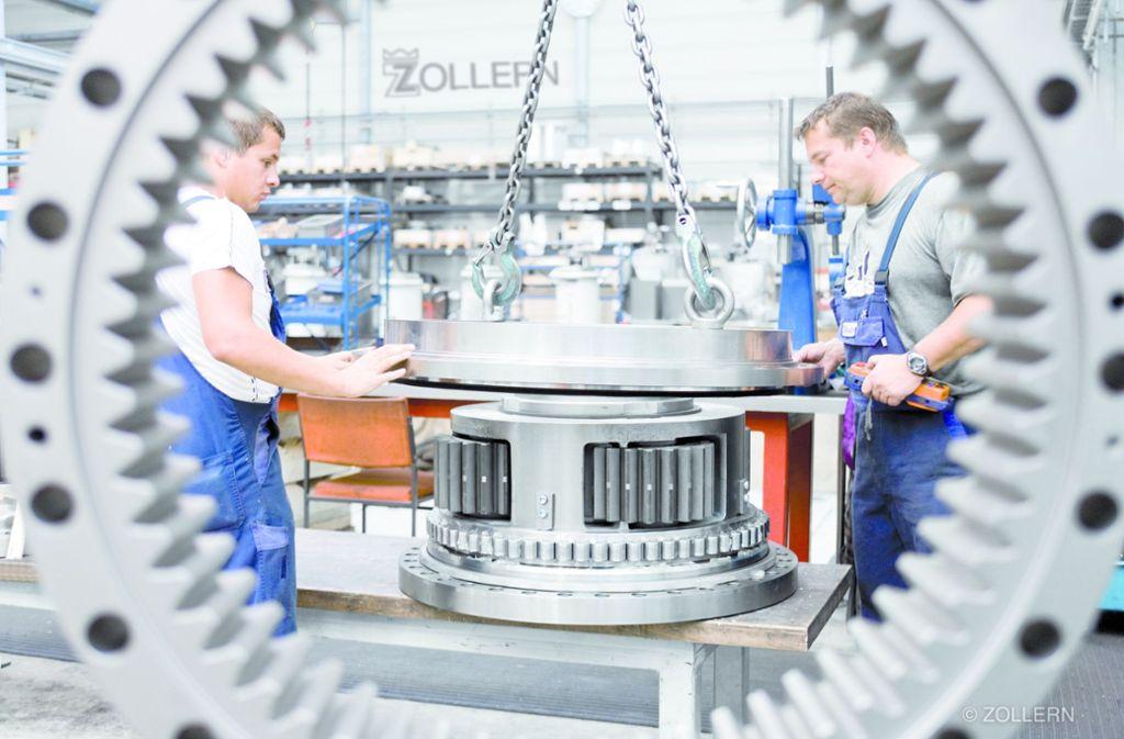 Zollern darf fusionieren – Altmaier macht es möglich. Foto: Zollern GmbH/Gerhard Deutsch