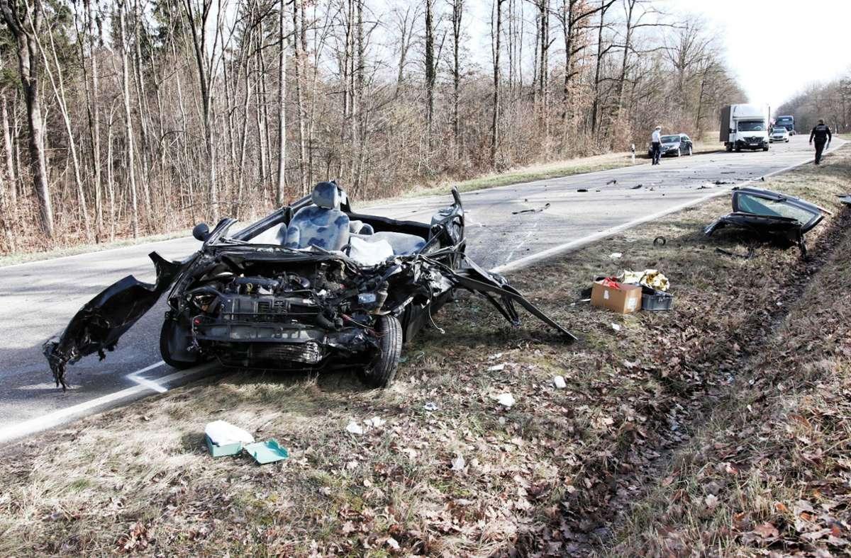 Der Unfallverursacher hatte sich zunächst von der Unfallstelle entfernt. Foto: Kevin Lermer/Kevin Lermer