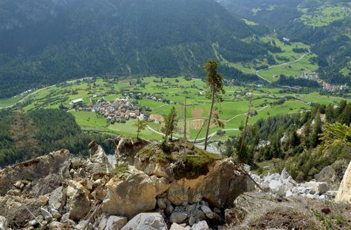 Warum ein Schweizer Bergdorf abzurutschen droht