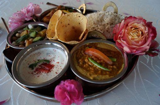 Auch das Auge isst mit in den beiden Restaurants von Ramesh Taneja.