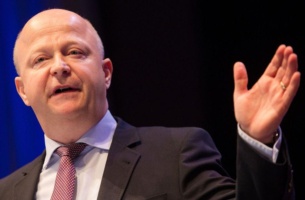 FDP-Politiker Michael Theurer  fordert eine personelle Erneuerung in der Bundesregierung, nur so könne die Modernisierung des Landes gelingen. Foto: dpa