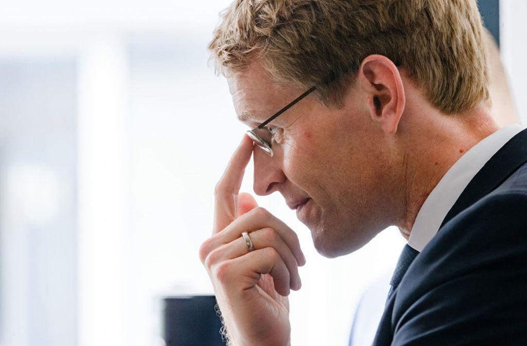 CDU-Präsidiumsmitglied Daniel Günther hat die Themen in der Sommerpause angestoßen. Foto: dpa