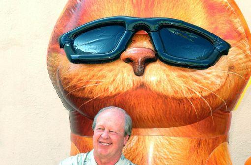 Sein  Comic-Kater Garfield bringt die  Welt zum Lachen