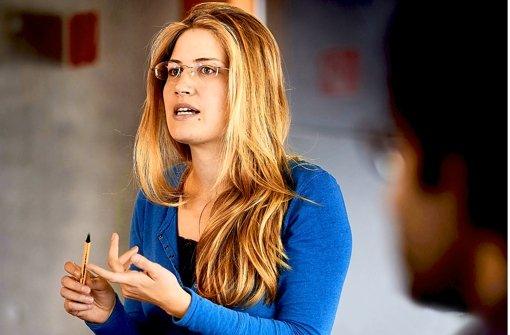 Eva-Maria Risse, eine Teilnehmerin der Weltrekorddebatte. Foto: Heinz Heiss