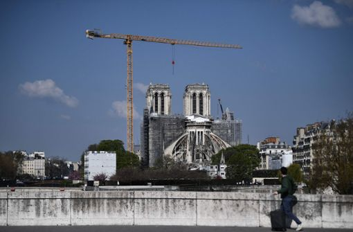 Notre-Dame soll bis 2024 wiederaufgebaut werden