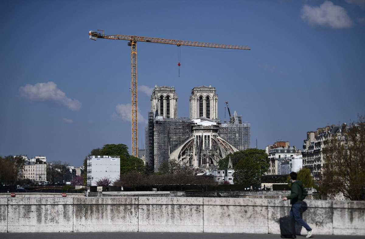 Die Pariser Kathedrale Notre-Dame. (Archivbild) Foto: AFP/ANNE-CHRISTINE POUJOULAT
