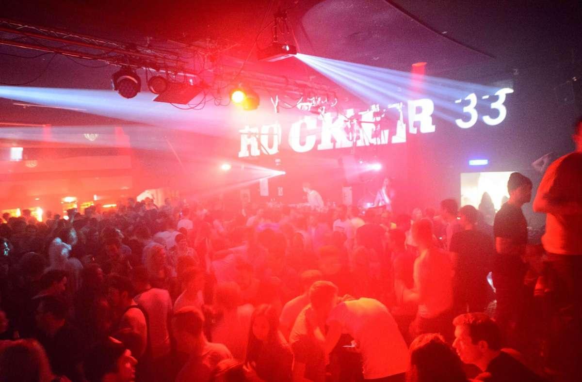 Eine Szene von der letzten Party im Rocker 33. Foto: StZ/7aktuell.de