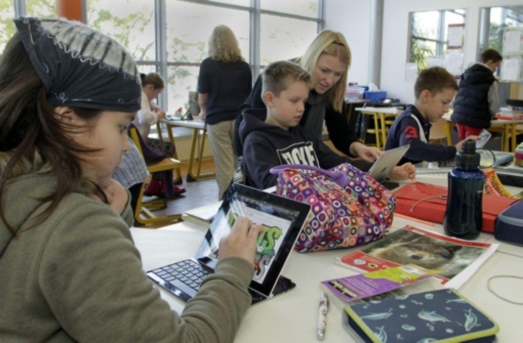 Internationale Schule: Die Klassen sind klein,  die Betreuung intensiv. Foto:
