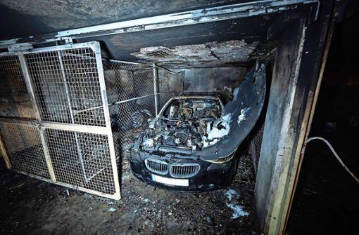 Das Feuer in der Tiefgarage wurde gelegt